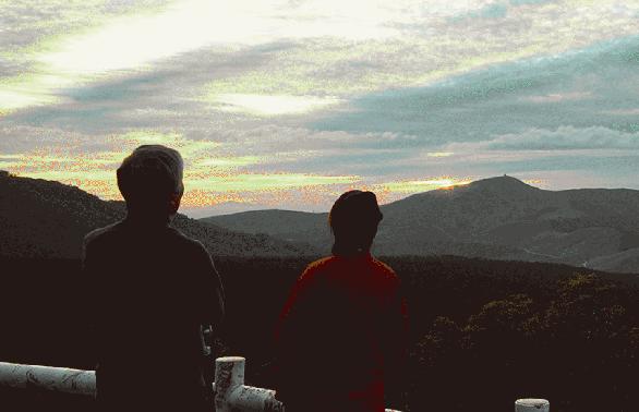 白樺高原の「夕陽の丘公園」って名前がいいよね!